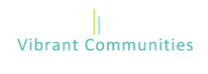 Vibrant Communities Logo White