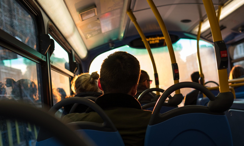 Bus Ride Man