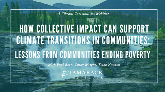 Webinar: How collective impact can support climate transitions in communities