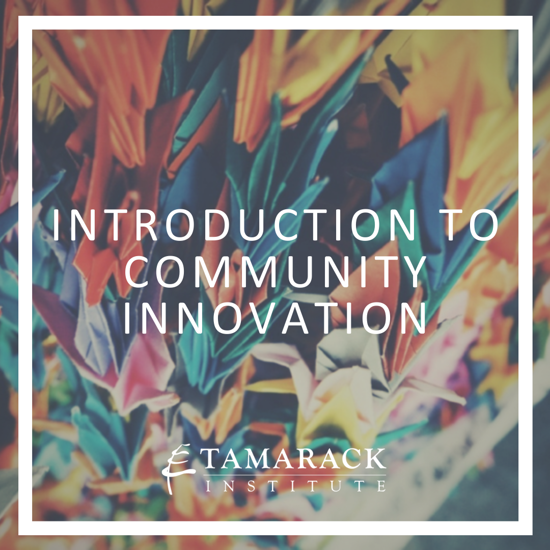 2019 Introduction to Community innovation Square-1