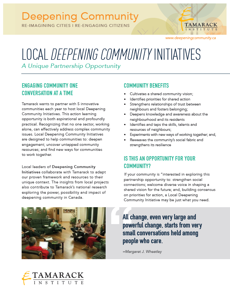 Local DC Initiative Brochure