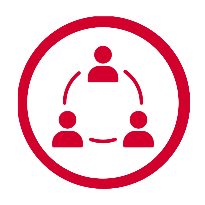 Collaborative Leadership Icon New