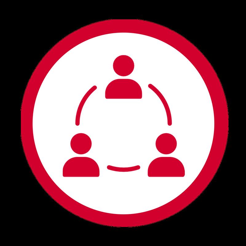 Collaborative Leadership Icon New