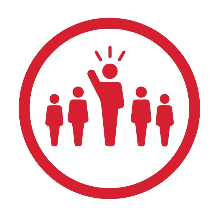 Collaborative Leadership Icon