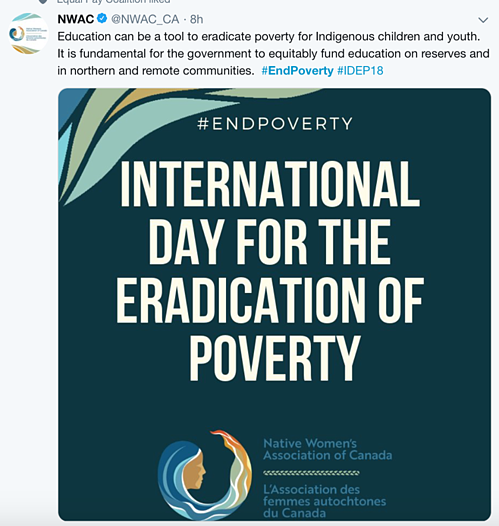 EndPoverty Tweet 7