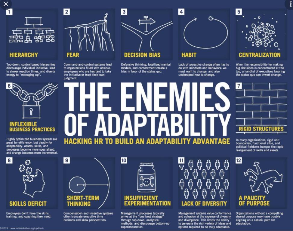 Enemies of Adaptability