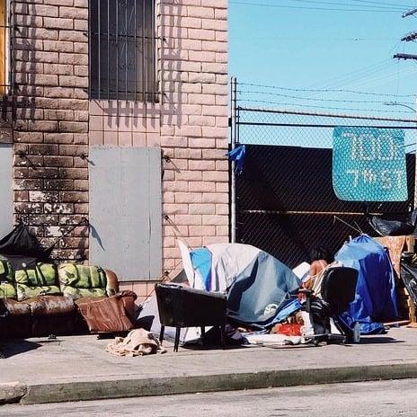 Homelessness square