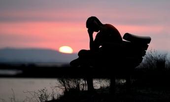 Lone person