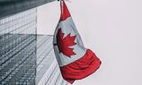 Low-angle Canadian Flag