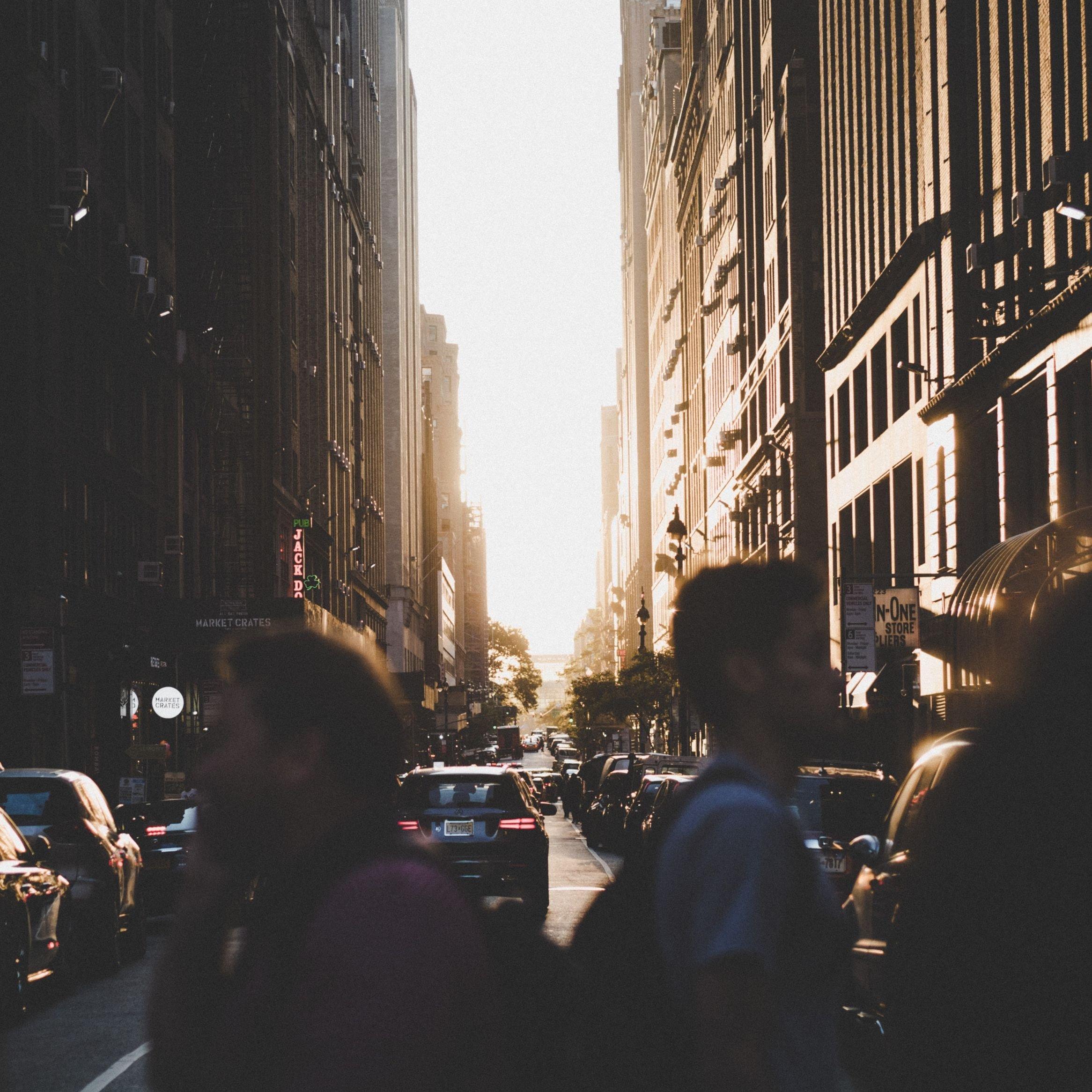 People Walking Square