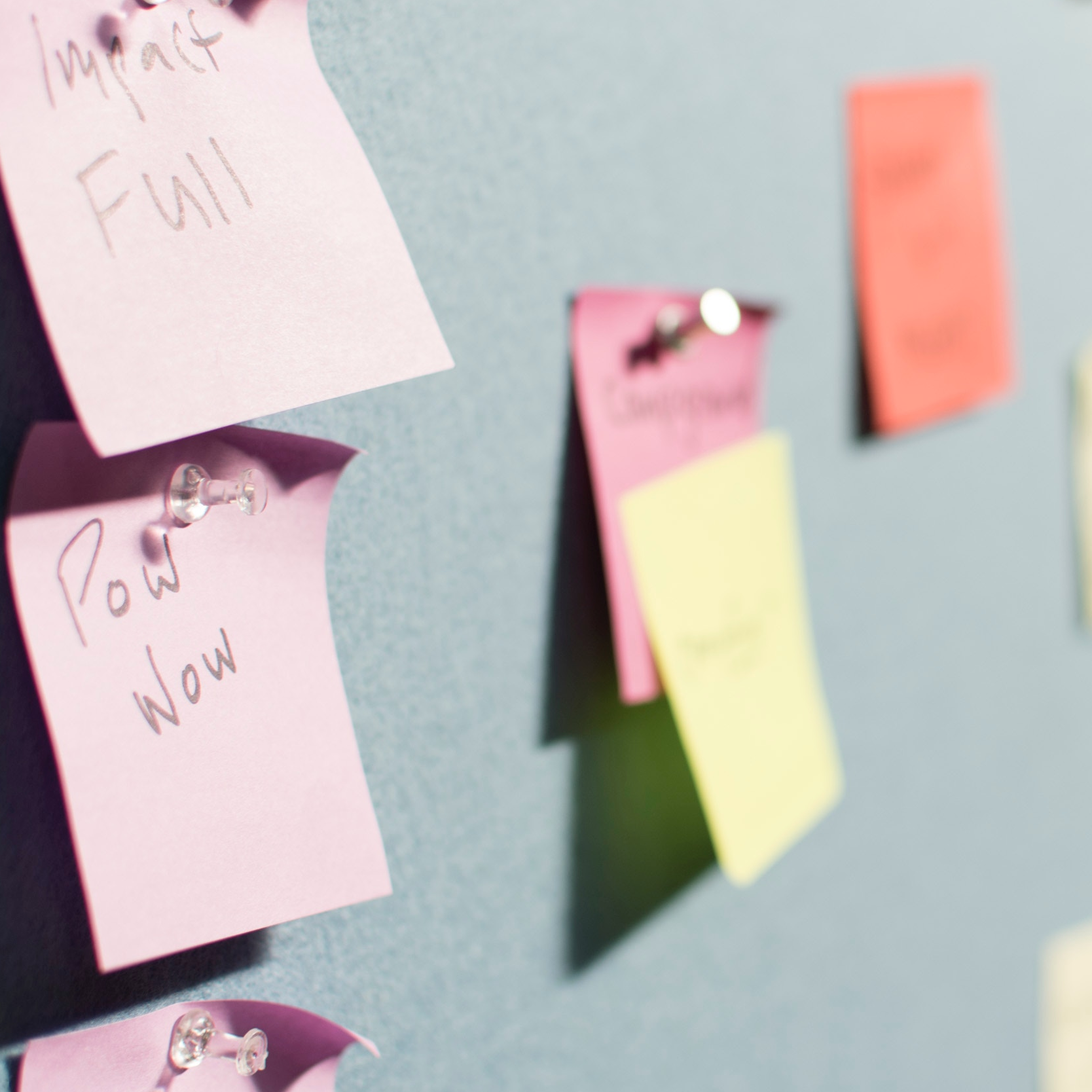 Post It Wall Square