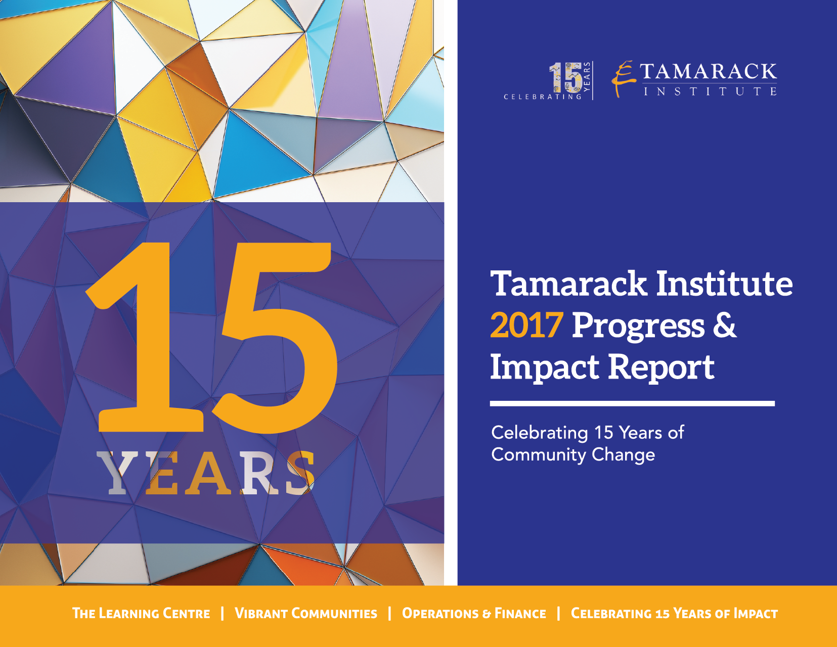 Tamarack Annual Report 2017 Cover Page.png