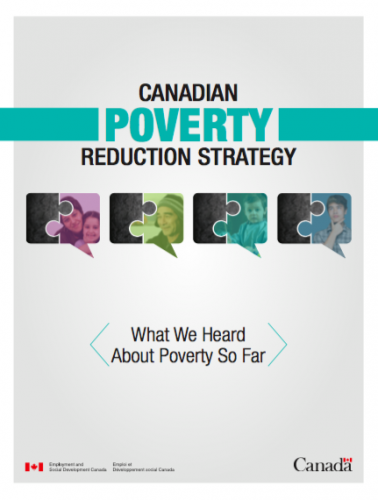 canadian poverty reduction strategy what we heard so far icon.png