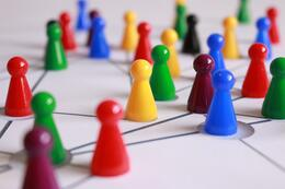 network players connected web community