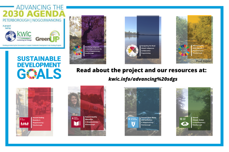 Read about the project and our resources at kwic.infoadvancing sdgs