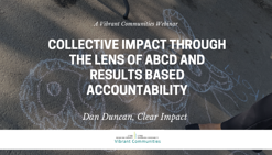 Collective Impact Through the Lens of ABCD and Results Based Accountability