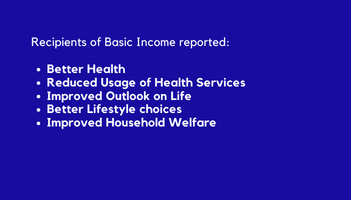 Findings from Southern Ontarios Basic Income Experience