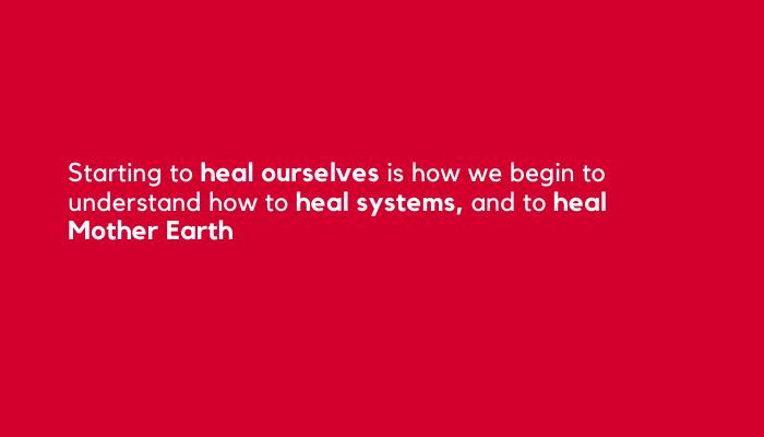 Mushkiki (medicine) healing self and systems