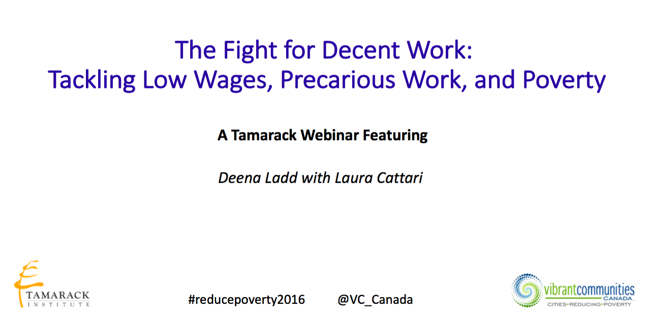 The Fight for Decent Work
