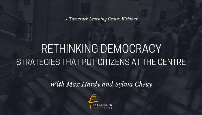 2019 Webinar Rethinking Democracy