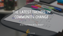 Community Change trends Webinar