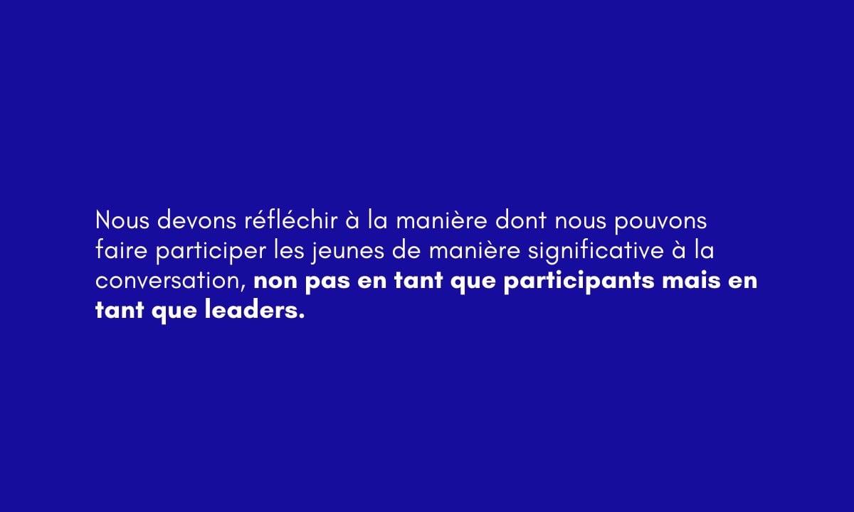Engaging Youth webinar (FR)