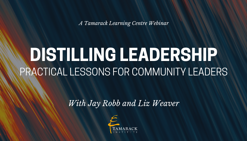 Webinar Distilling Leadership