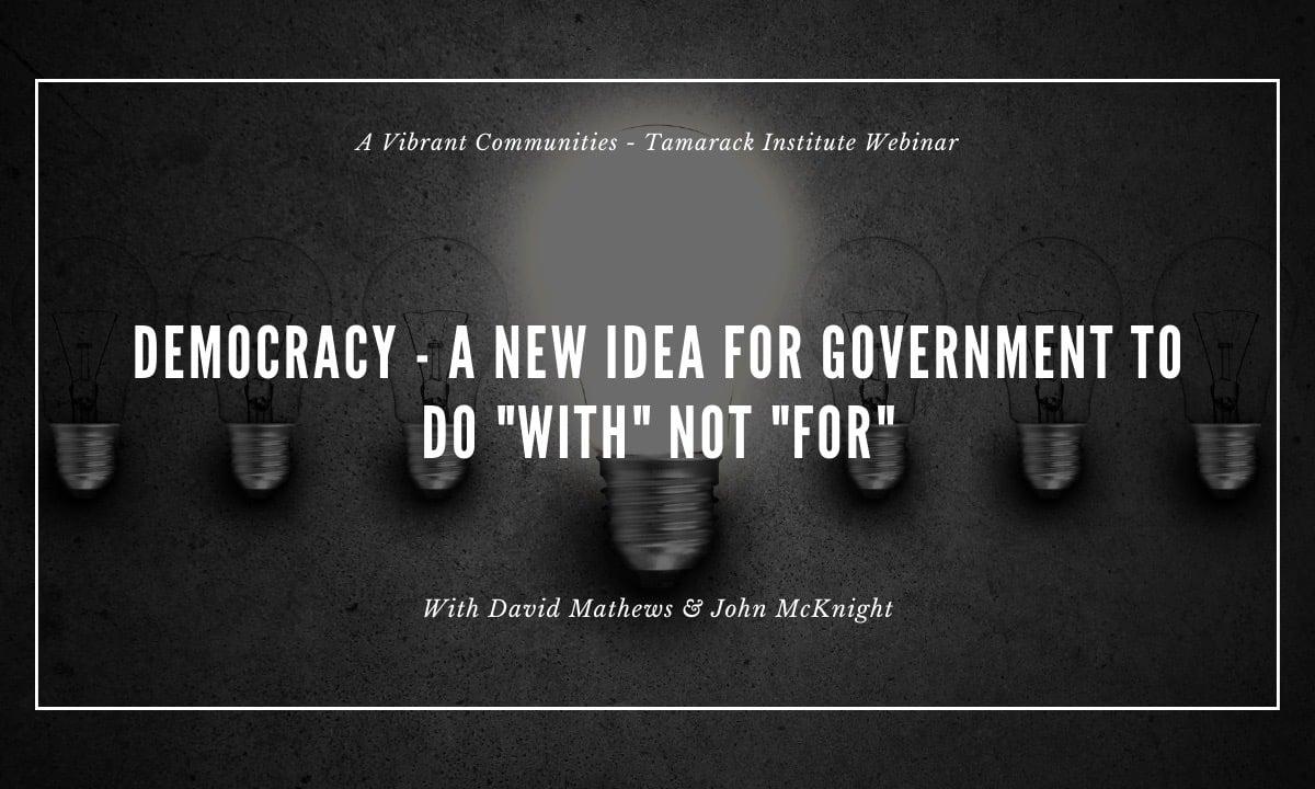 democracy webinar