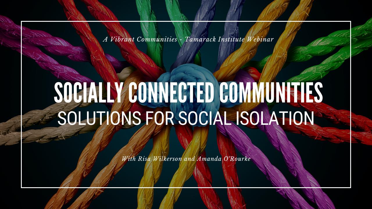 socially connected Webinar