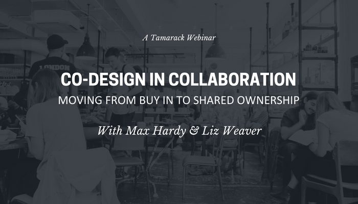 Co-Design in Collaboration Webinar