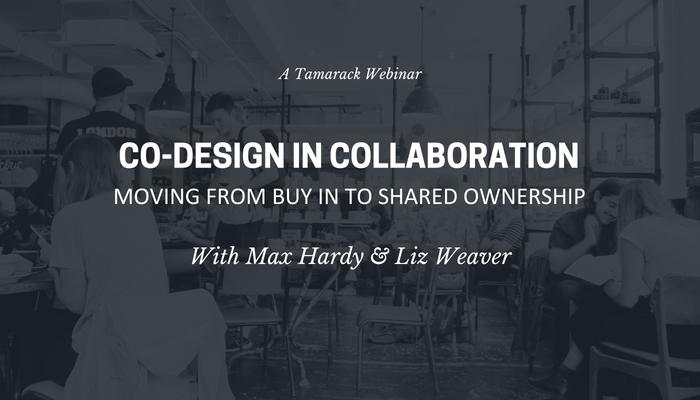 Co-Design in Collaboration Webinar
