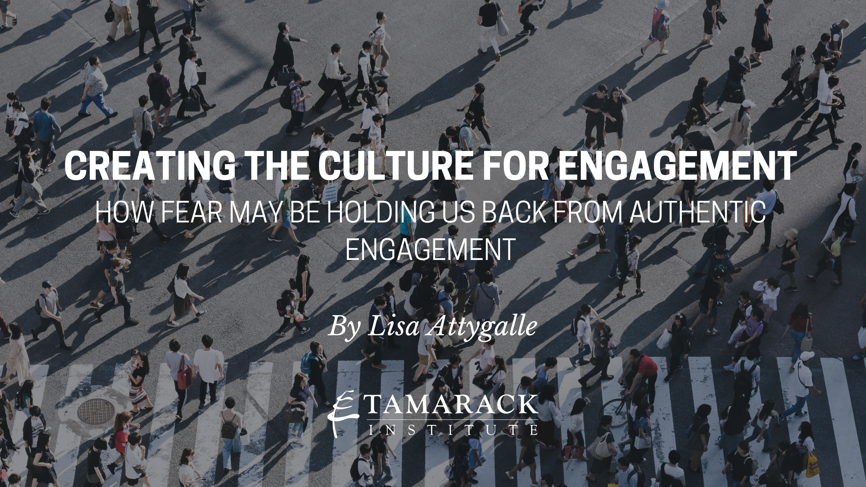 Creating the Culture for Engagement