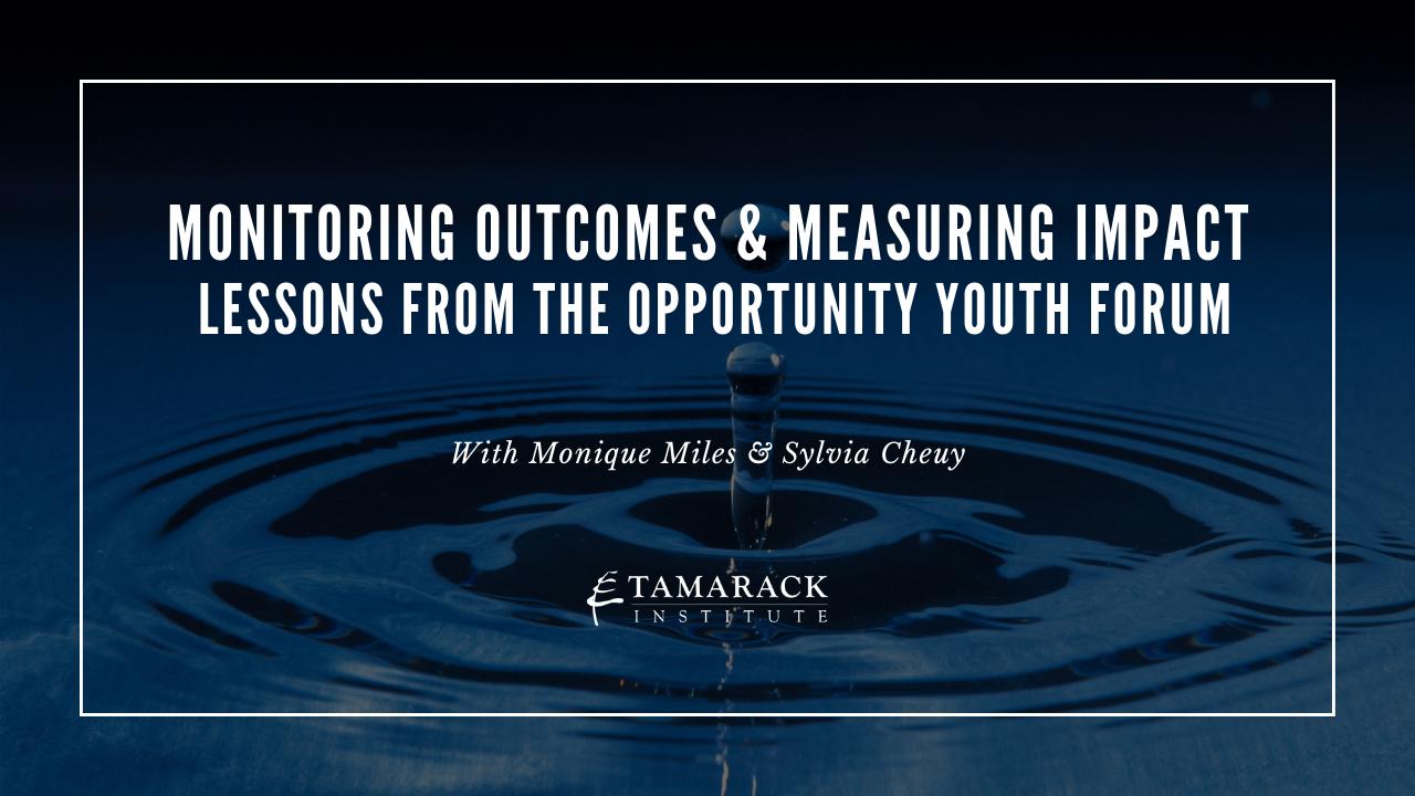 Opportunity Youth Webinar