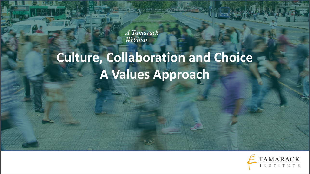 Values Approach Webinar Graphic